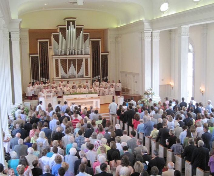 The Choir at Easter