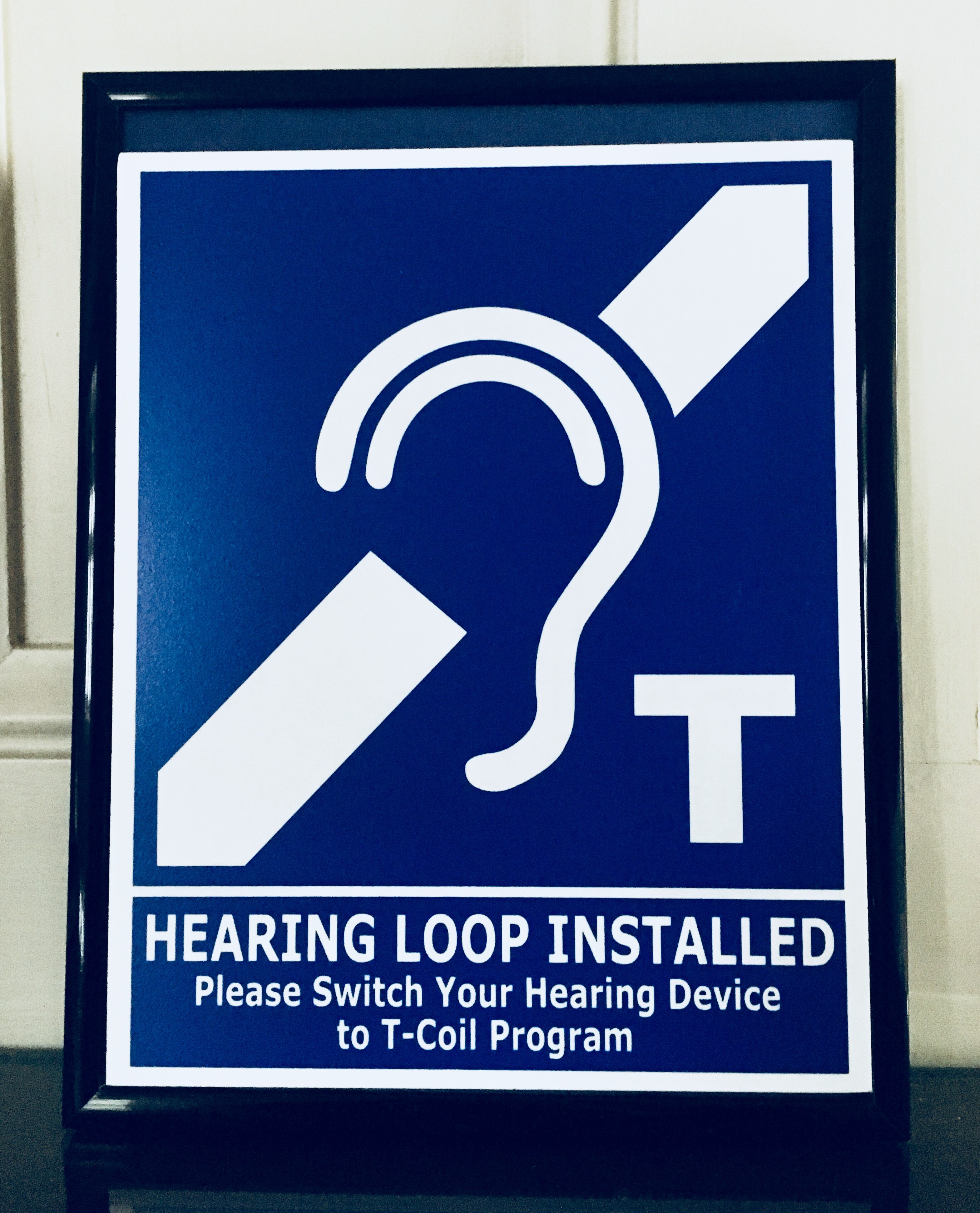 Sanctuary Hearing Loop Upcch
