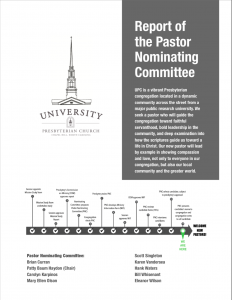 Pastor Nominating Committee – UPCCH