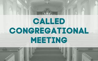 Congregational Meeting, 8/29/21